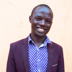 Stephen Katende, founder of Kisoboka Africa and recipient of the 2018 Queen's Young Leader Award